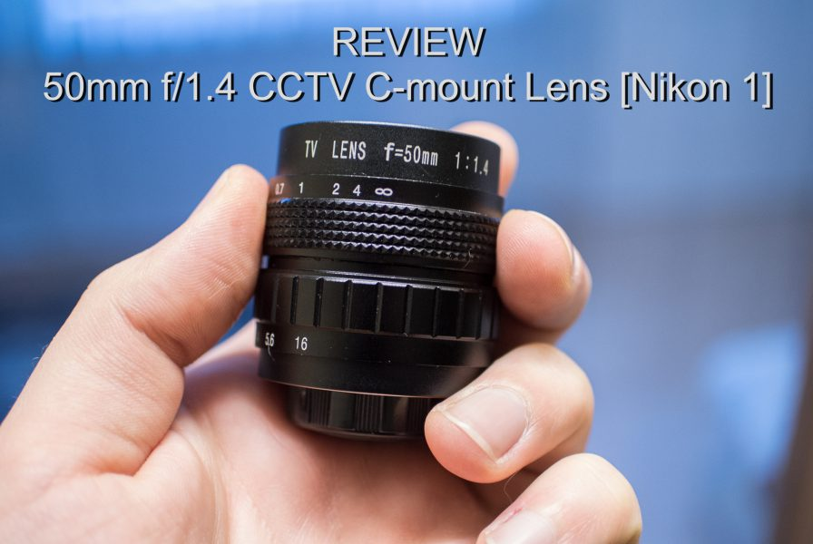 50mm f1.4 c-mount lens review