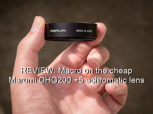 Marumi DHG200 Review