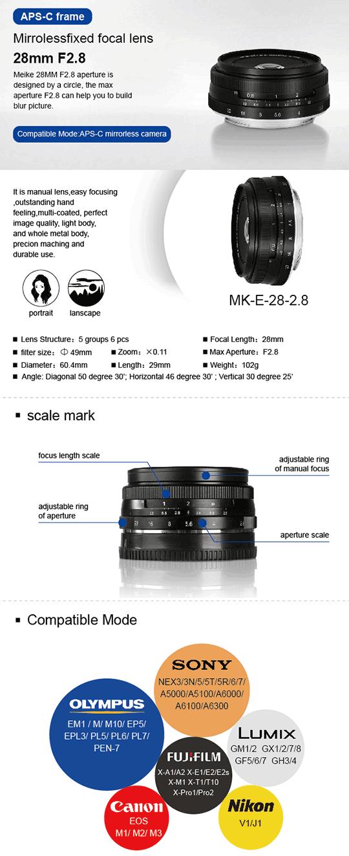 Meike-28mm-F2.8