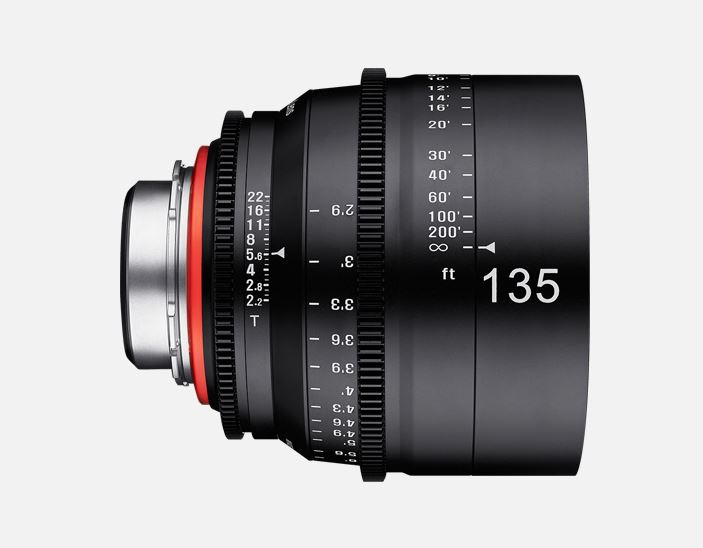 Samyang-XEEN-Ceinema-Lens-135mm-T2.2-side